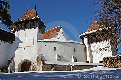 Fortified church of Viscri, Transylvania