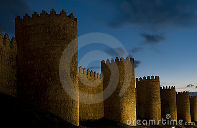 Fortified City Walls, Avila Spain