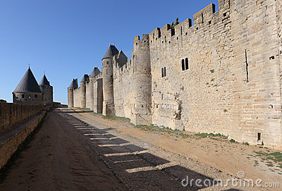Fortified walls of Carcassonne
