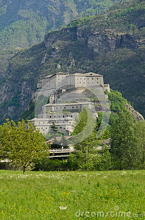 Fortress of Bard - Aosta Valley - Italy