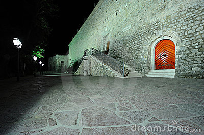 Fortress in Budva