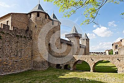 Fortress in Carcassonne