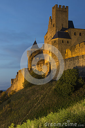 Fortress of Carcassonne - France