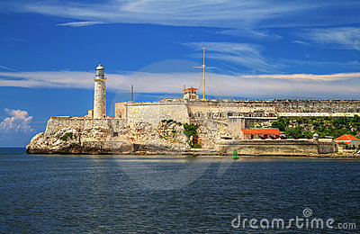 Fortress of El Morro in Havana, Cuba
