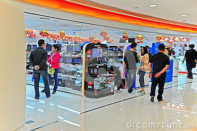 Fortress electronics store in hong kong Editorial Image