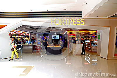 Fortress electronics store in hong kong Editorial Photo