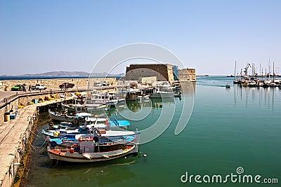 Fortress in Heraklion, Crete, Greece