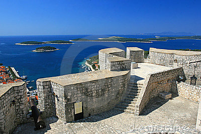 Fortress in Hvar, Croatia