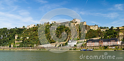 The fortress in Koblenz