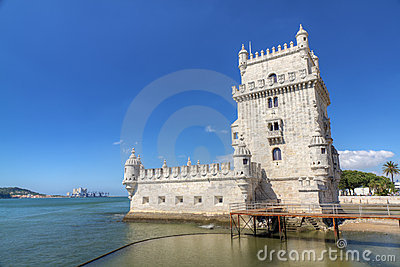 Fortress Lisbon Belem Tower, Portugal