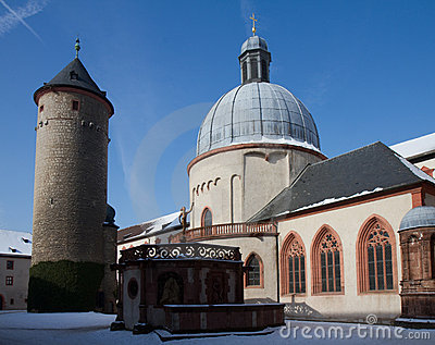 Fortress Marienberg with chapel and Tower