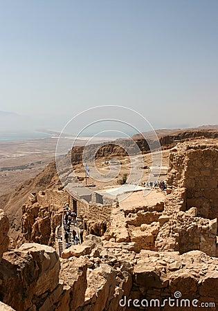 Free Fortress Of Masada, Israel Stock Photos - 7767883