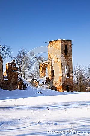 Free Fortress Ruins Royalty Free Stock Photos - 24161328