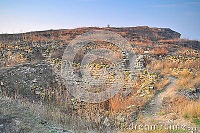 Fortress Ruins in Romania