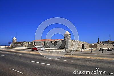 The fortress of San Salvador de la Punta