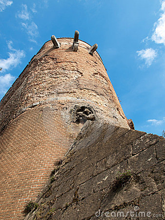 Fortress in Siena