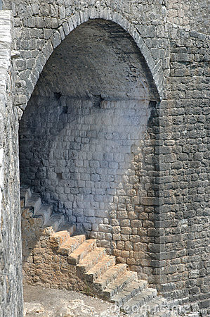 Fortress stairs