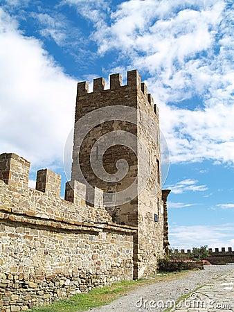 Fortress in Sudak