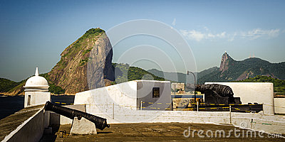 Fortress with Sugarloaf Mountain