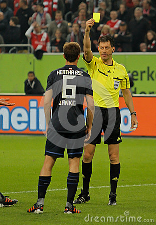 Fortuna Düsseldorf v Hertha BSC Berlin. Editorial Photography