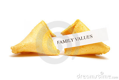 Fortune Cookie of Family Values