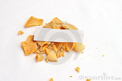 Fortune Cookie Slip Top Stock Photos - Image: 19634303