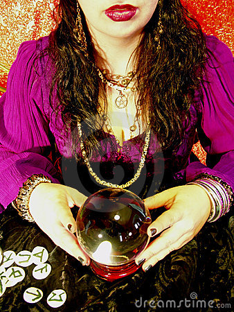 Free Fortune Teller Royalty Free Stock Photo - 181965