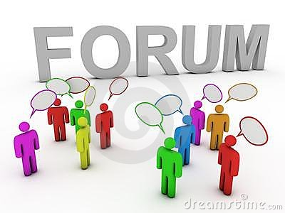 Forum discussing people