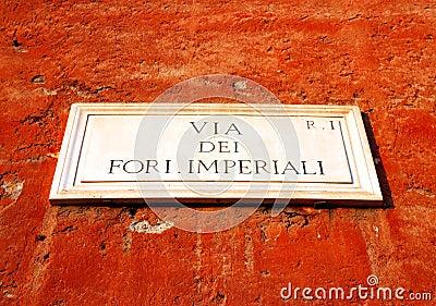 Forum impérial romain