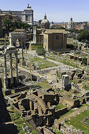 Free Forum Romanum Stock Photography - 5238672