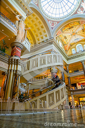 The Forum Shops in Las Vegas Editorial Image