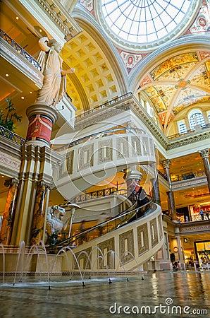The Forum Shops in Las Vegas Editorial Image