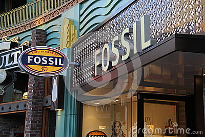 Fossil Editorial Photography