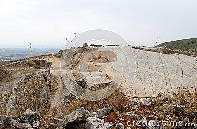 Fossil bed of Pedreira do Galinha, Portugal