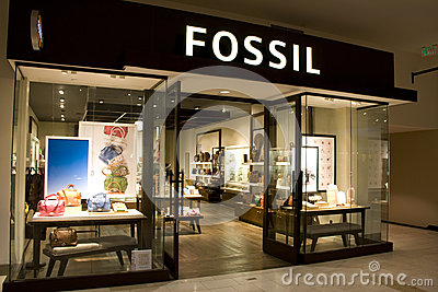 Fossil clothing store