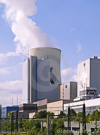 Fossil-fuel power station