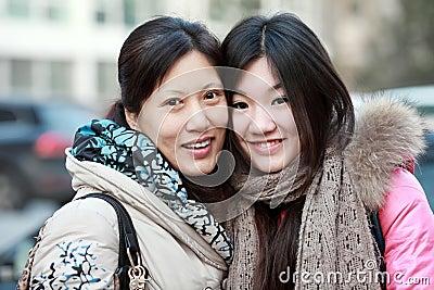 Fostra och dottern