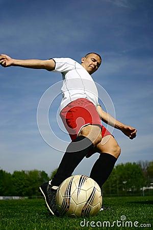 Fotbollspelare #10