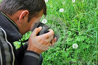 Fotógrafo da natureza