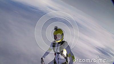 Foto de Skydiving vídeos de arquivo