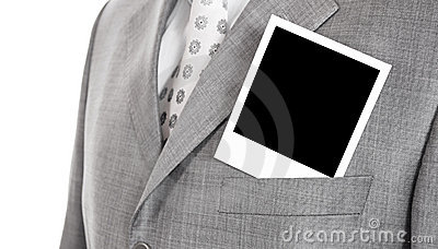 Foto en una chaqueta