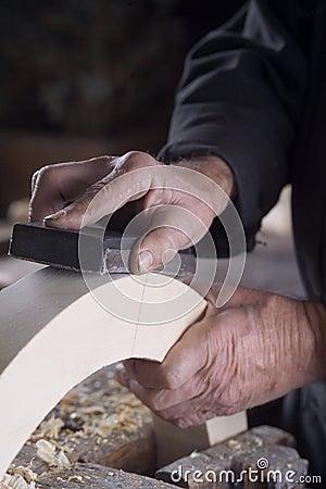 Foto van dit man handen