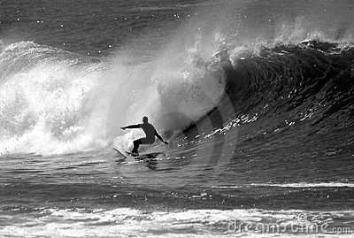 Foto van een Surfer