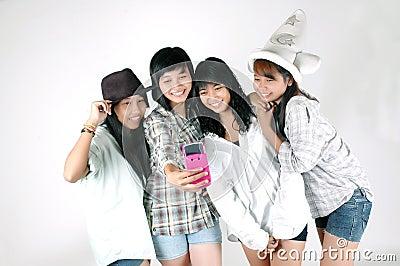 Fotograferat använda för kamera telefon