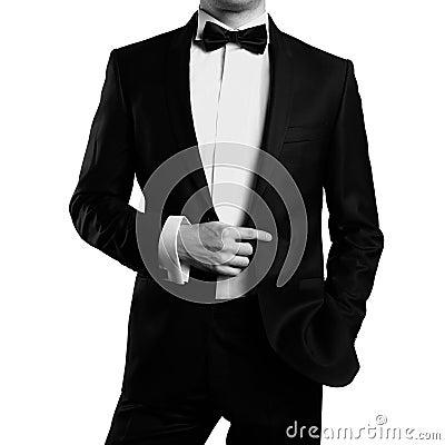 Elegancki mężczyzna