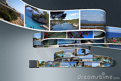 Fotos e cartão do SD