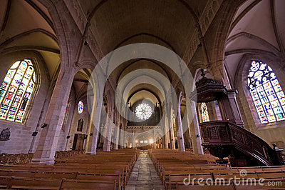 Fougeres - Church