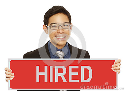 Found A Job Stock Photography - Image: 29235932