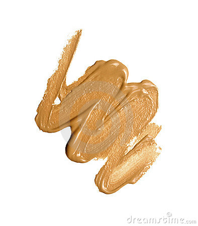 Foundation color sample