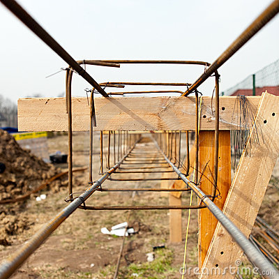 Foundations steel structure